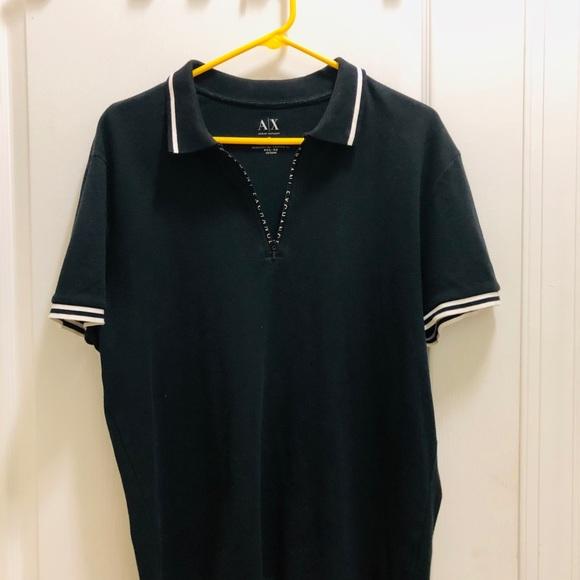 Authentic Armani Exchange men top ,front zipper